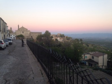 View from Ubeda at Dusk