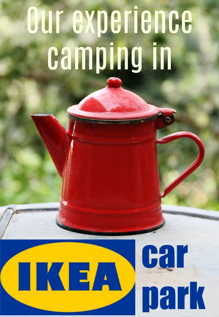 Where you can and why you should camp in the Ikea car park. Our experiences staying in an Ikea car park in our motorhome in Murcia in Spain.