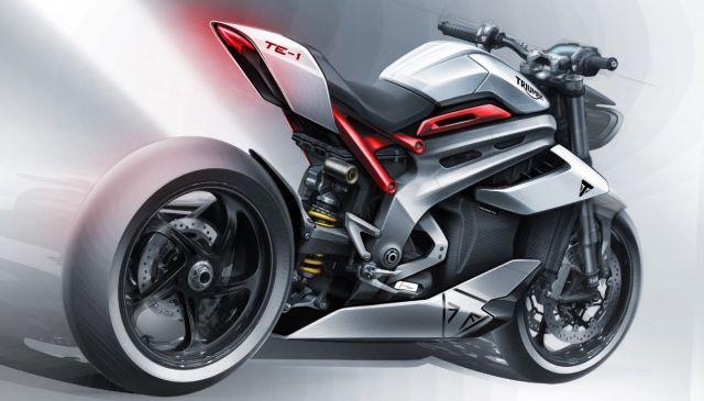 Triumph, la moto si fa elettrica