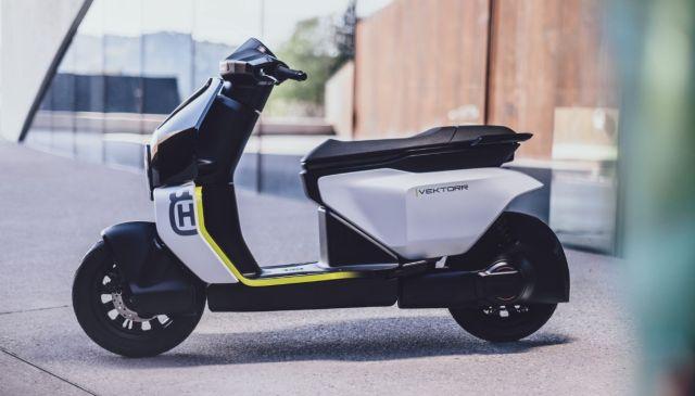 Vektorr il primo scooter elettrico Husqvarna