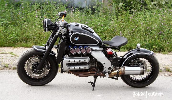 Radical Bobber Bmw K1200rs By Galaxy Custom