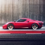 Tuned Alfa Romeo 4c Pays Tribute To 33 Stradale Motor Illustrated