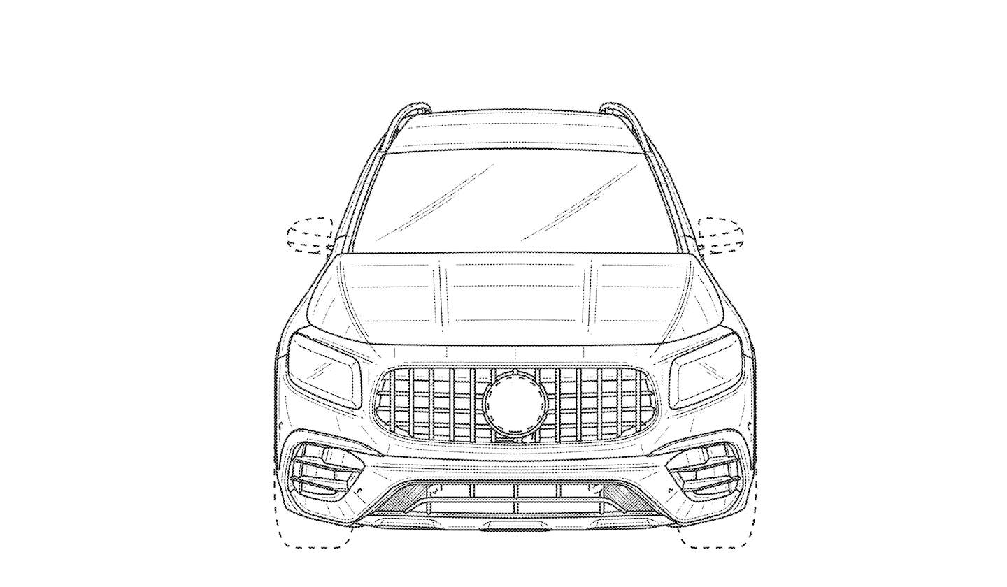 The Mercedes Amg Glb 45 Confirmed In A Patent Filing