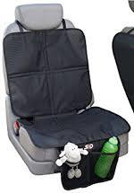 Car seat protector with pockets
