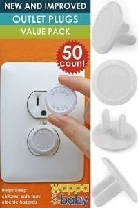 Wappa Baby Premium Quality Childproof Outlet Covers
