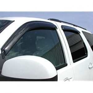 Stampede 6194-8 Chrome Tape-On Car Side Window Deflector, car window rain guards