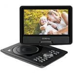 COOAU 11.5 inch best portable DVD player for car