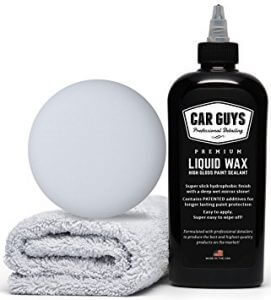 CarGuys Liquid Wax - The Ultimate Car Wax Shine, best spray detailer for black cars