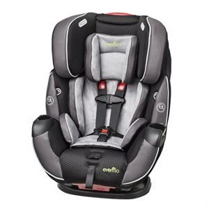 Evenflo symphony elite all in one convertible car seat, safety first infant car seat