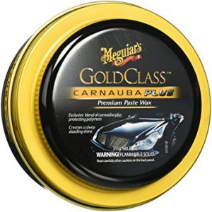 Meguiar's G7014J Gold Class Carnauba Plus Paste Wax, best swirl remover for black paint
