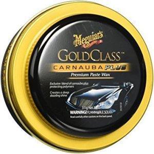 Meguiar's G7014J Gold Class Carnauba Plus Paste Wax, best swirl remover for black paint