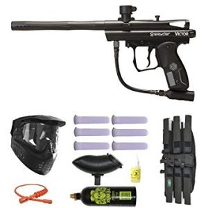 Spyder Victor Paintball Marker 3Skull Mega Set, most reliable paintball guns, best paintball barrel for accuracy