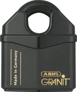 ABUS 37- 80 Granit Alloy Steel Lock Keyed Differently Padlock -Rekeyable, best padlock for storage unit