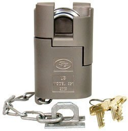 Sargent & Greenleaf 951C High Security Padlock, Military grade lock for storage unit
