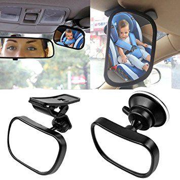 benefits of a child auto mirror, baby mirror no headrest
