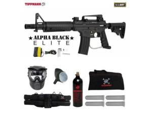 Tippmann US Army Alpha Black Elite best long distance paintball gun