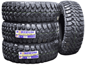 Forceum radial tires for muddy terrain, best mud tires for the money