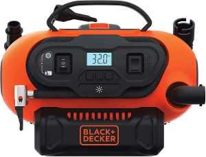 BLACK+DECKER 20V MAX Multi-purpose air inflator, best air compressor for car tires
