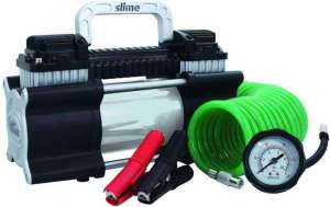 Slime 40026 2X Heavy Duty Direct Vehicle battery Drive Tire Inflator from the Amazon warehouse, best portable car tire inflator for direct battery drive, best portable car tire compressor