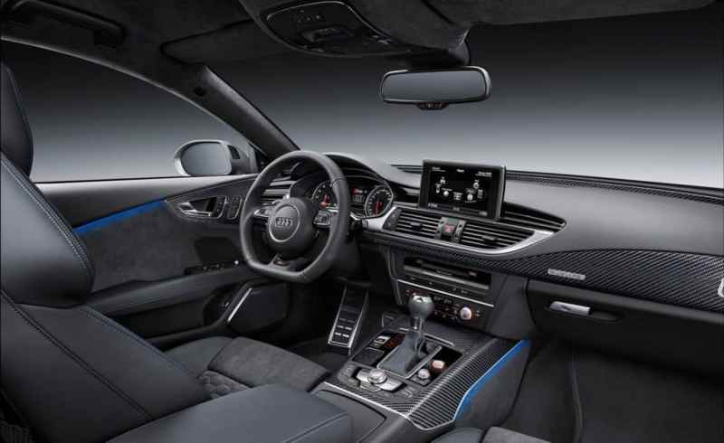 Audi RS7 Performance interiors