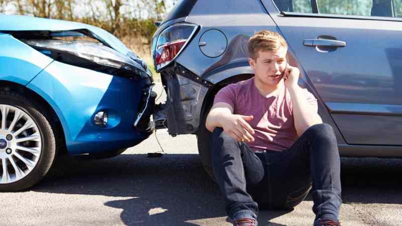 Crash collision accident
