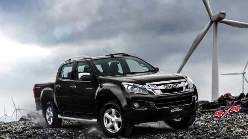 isuzu-d-max-v-cross-black