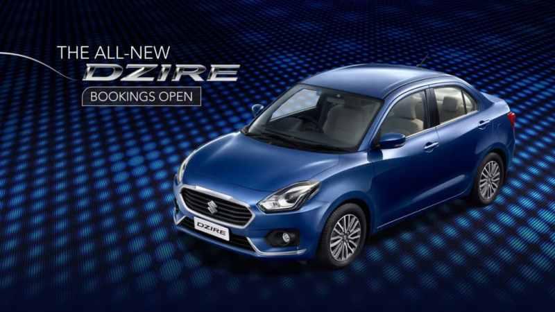 2017 Maruti Dzire Bookings Open Maruti Sedan