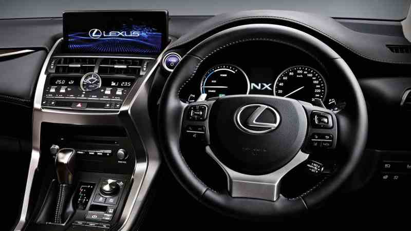 2018 Lexus NX 300h Dashboard Interior