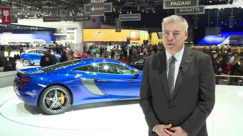 Frank Stephenson car designer mclaren p1