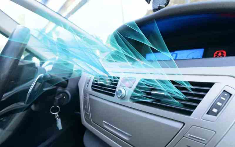 make car airconditioner cool again