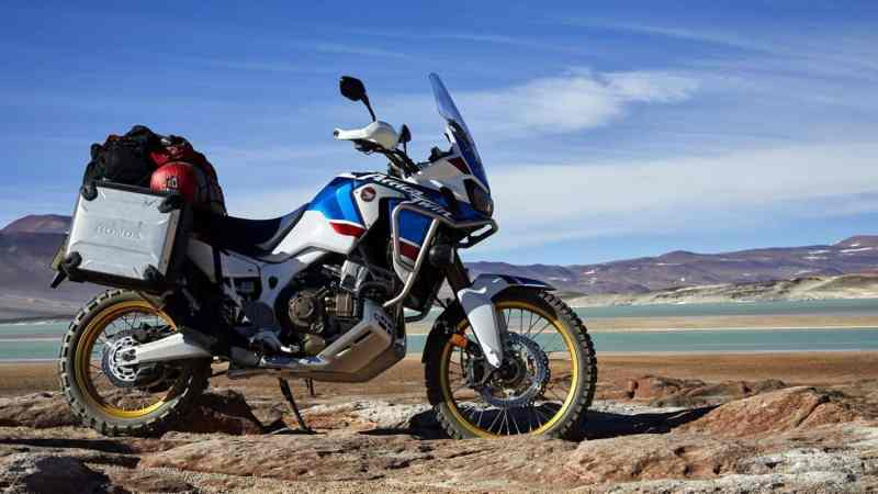 africa twin adventure motorcycle