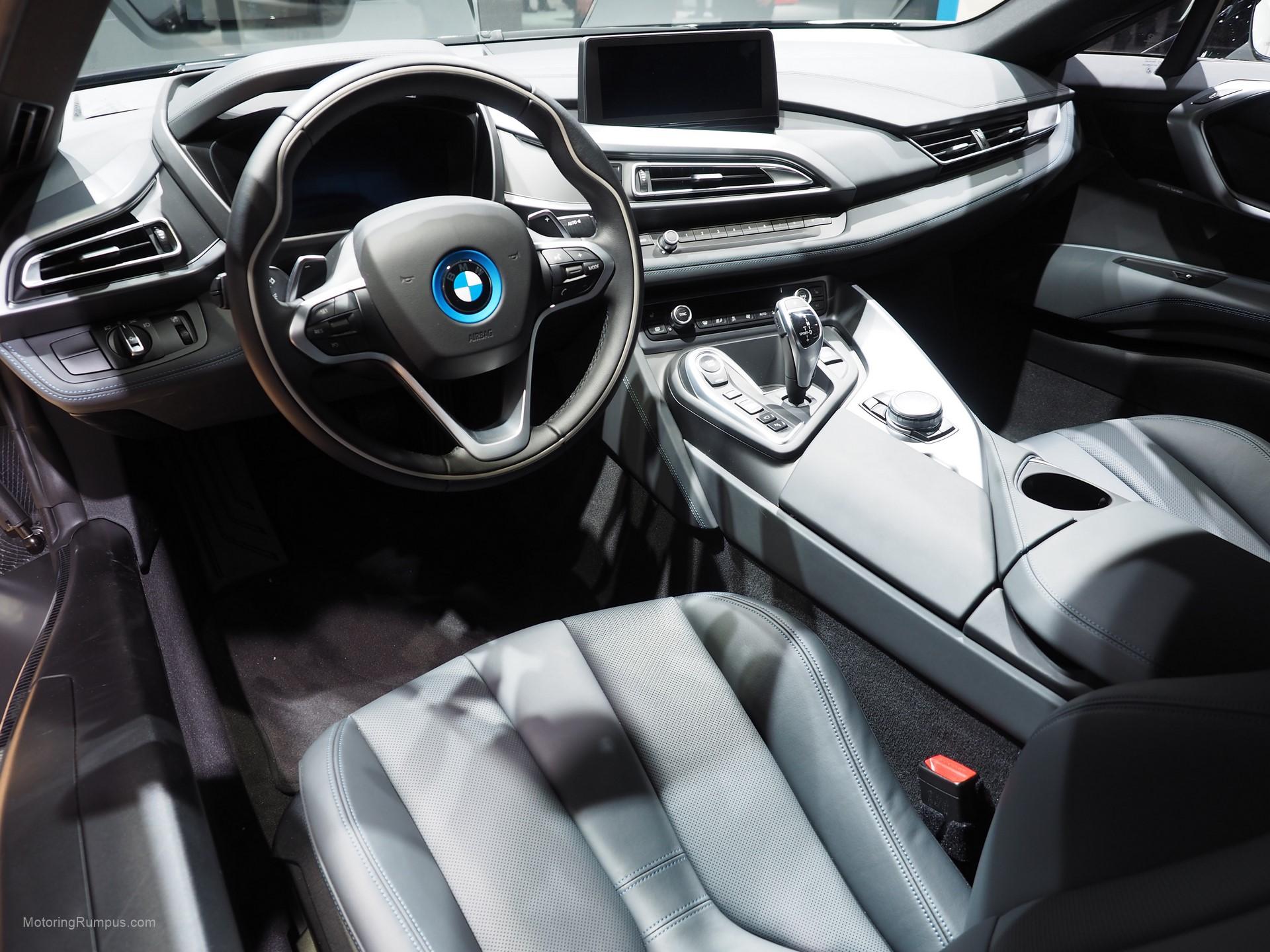 2016 NAIAS BMW I8 Interior Motoring Rumpus