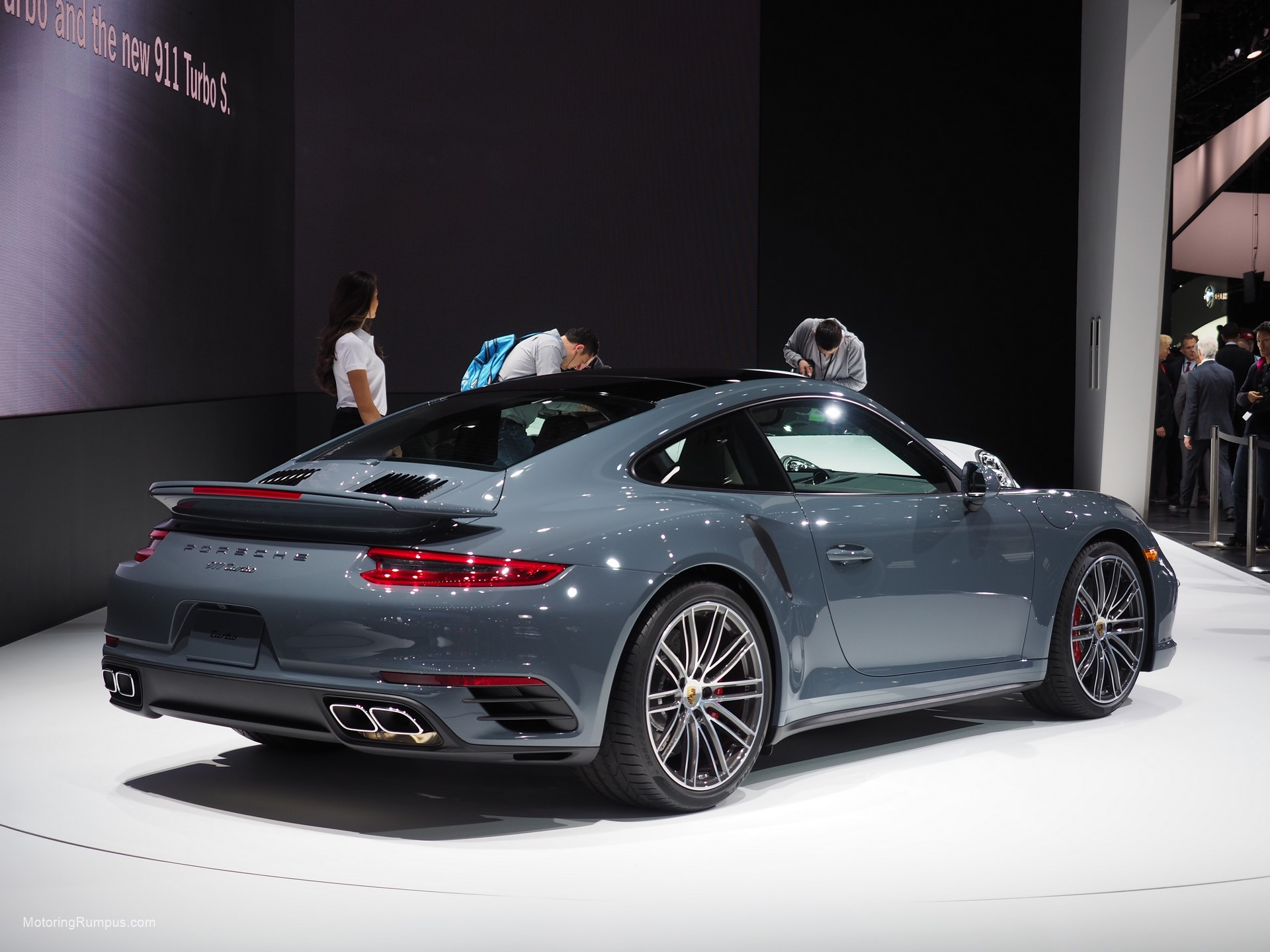 naias 2016 porsche motoring rumpus. Black Bedroom Furniture Sets. Home Design Ideas