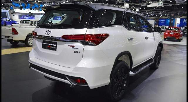 new toyota fortuner 2018