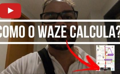 como o waze calcula a previsão