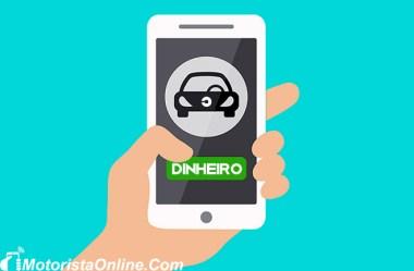 Pagamento em dinheiro Uber
