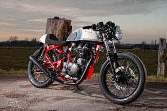 Royal Enfield cafe racer T-Factor Bikes 2