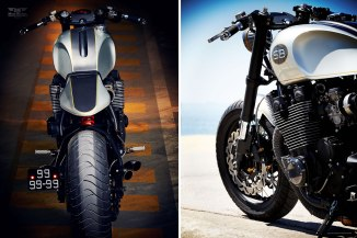 Custom Yamaha XJR1200 it by it roCkS!bikes