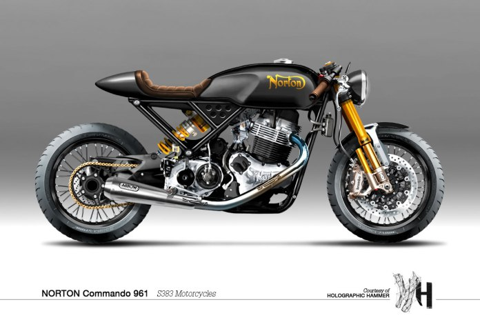 Norton Commando 961 Holographic Hammer
