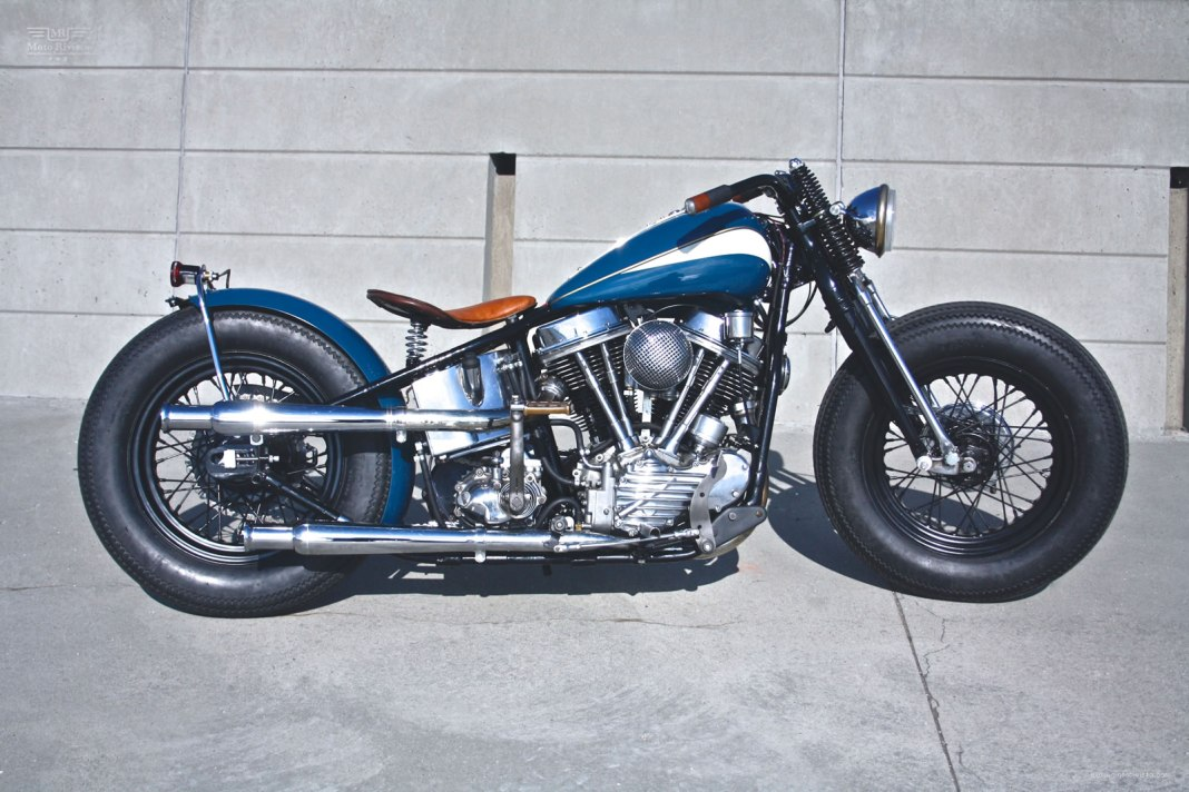 48 custom Panhead by Customs from Jamesville