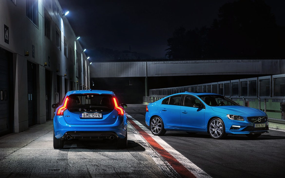 Polestar exterior static dark shots