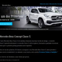 Mercedes-Benz inicia processo de reserva da Pick-Up Classe X