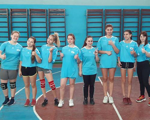 Обласні змагання з волейболу серед дівчат