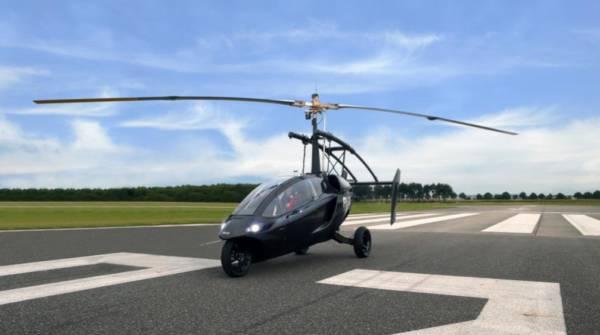 Pall V One is a Hybrid Car and Gyroplane