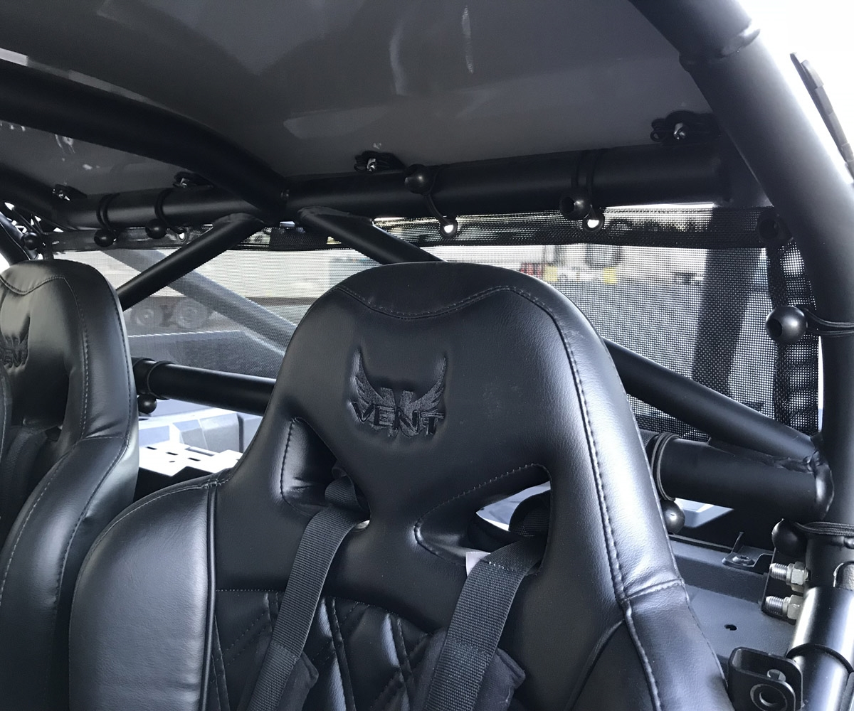 Ron Green Custom Cages - RZR - Rear Window