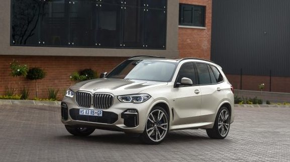 BMW X5 is hier