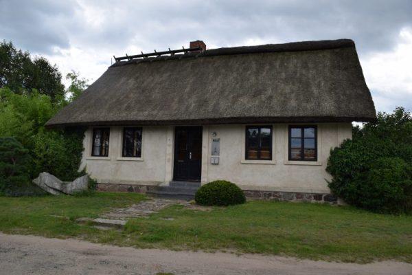 Eingang zum Roji-Garten in Bartschendorf im Havelland
