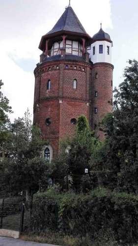 Wasserturm auf dem Funkerberg in Königs Wusterhausen