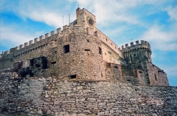 Motorradtour Toskana - Rom: Castello Orsini-Odescalchi in Bracciano nördlich von Rom