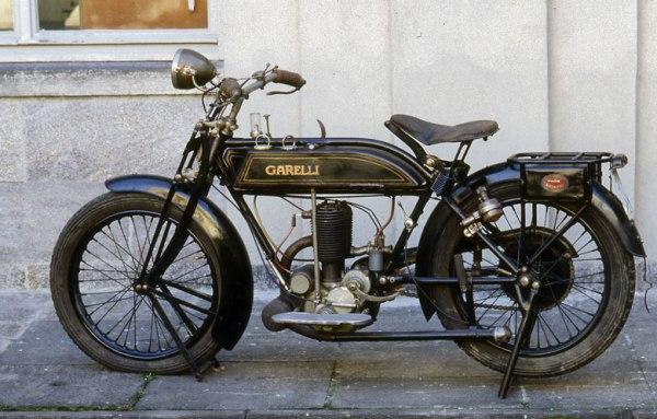 Garelli Zweitakt-Motorrad von 1914